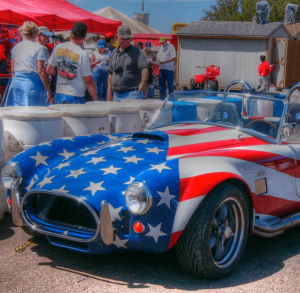 The Star Spangled Shelby Cobra
