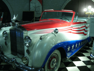 Liberace's 1954 Rolls-Royce of Red, White & Blue Passion