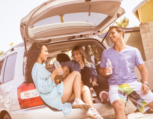A spring break road trip is great vacation idea