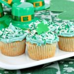 Festive cupcakes are a good thing to have at a St. Paddy's Day cookout