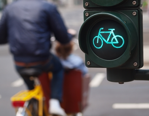 Driving safe for cyclists