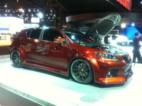 There will be plenty of opportunities to look under the hood at this year's Washington Auto Show.