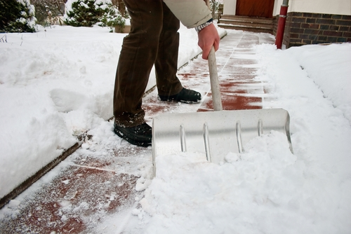 It's important to shovel smart when removing snow, as heart attacks are a risk associated with this activity.