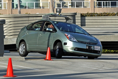 Google is said to be working on a driverless car, though it's not known when they'll be available for purchase.