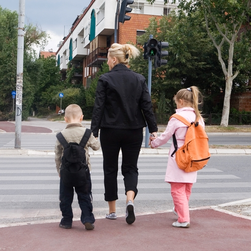 Make sure your kids are safe this year when they return to school on foot.