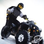 ATVs can make your winter both fun and productive.