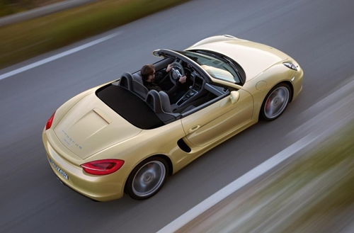 The Porsche Boxster made for a happy commute among luxury buyers in September.