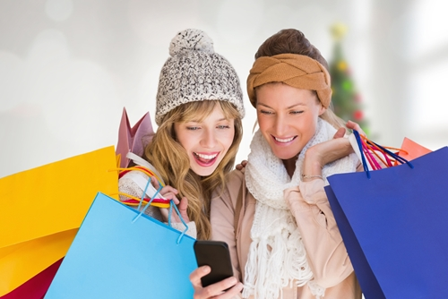 Mobile apps help make holiday shopping quicker and more affordable.
