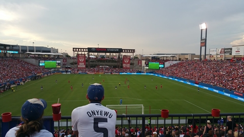 The Soccer Hall of Fame will be built at Toyota Stadium later this year, home to FC Dallas.