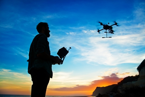 Drones may be your pizza deliverer in the coming years.