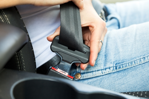 Officials have buckled down on seat belt laws and motorists are cooperating.