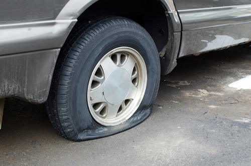 One more reason why you 'flat' out need roadside assistance