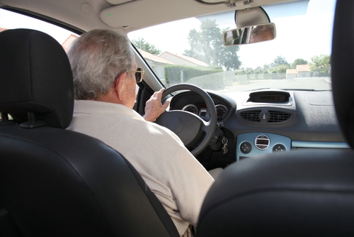 New survey data reveals seniors citizens are using handheld devices behind the wheel.