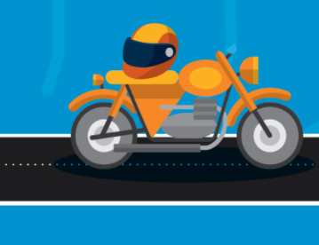 Important safety rules of the road when you're riding a motorcycle