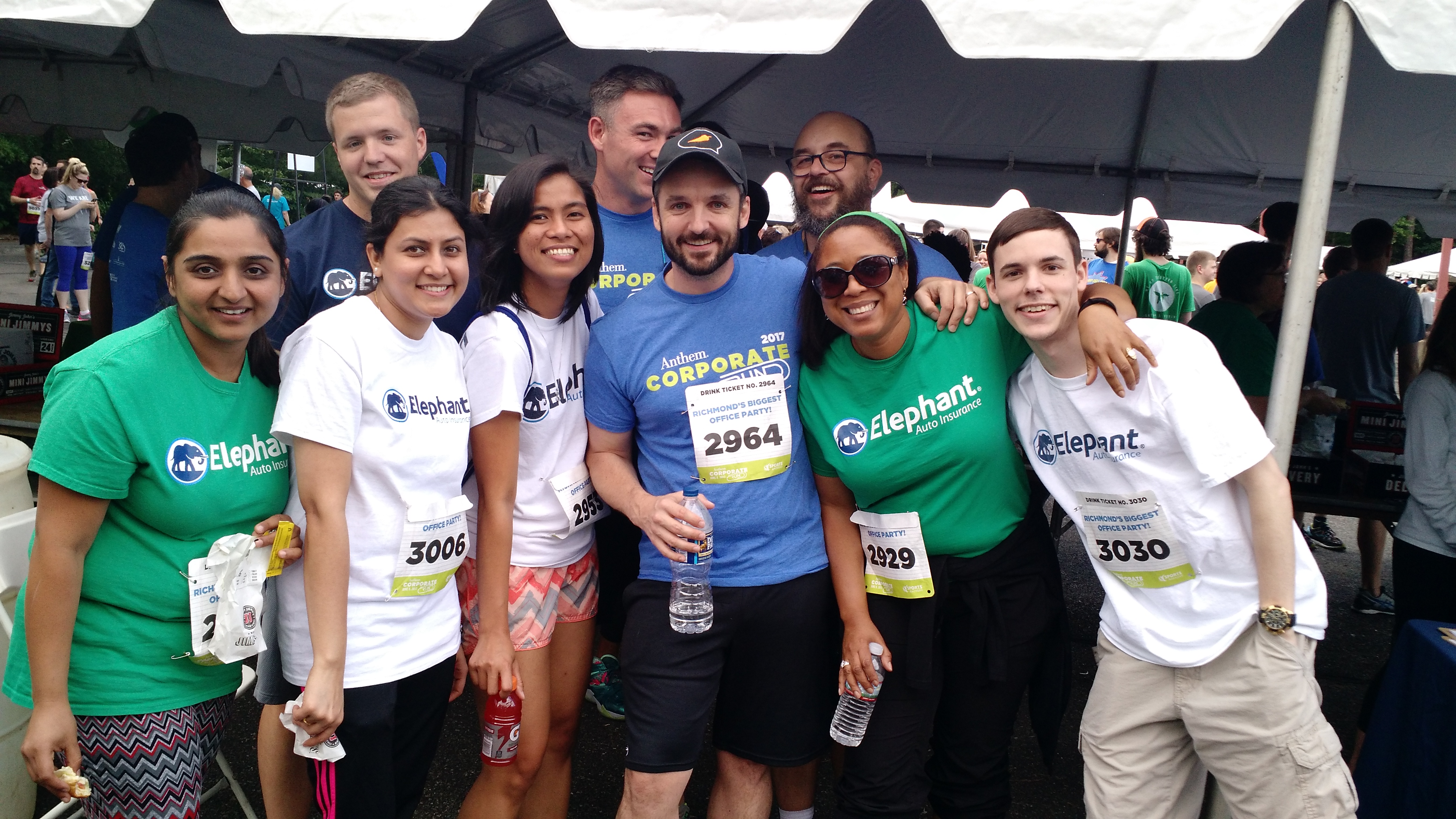 Elephant employees participate in local 5k event!