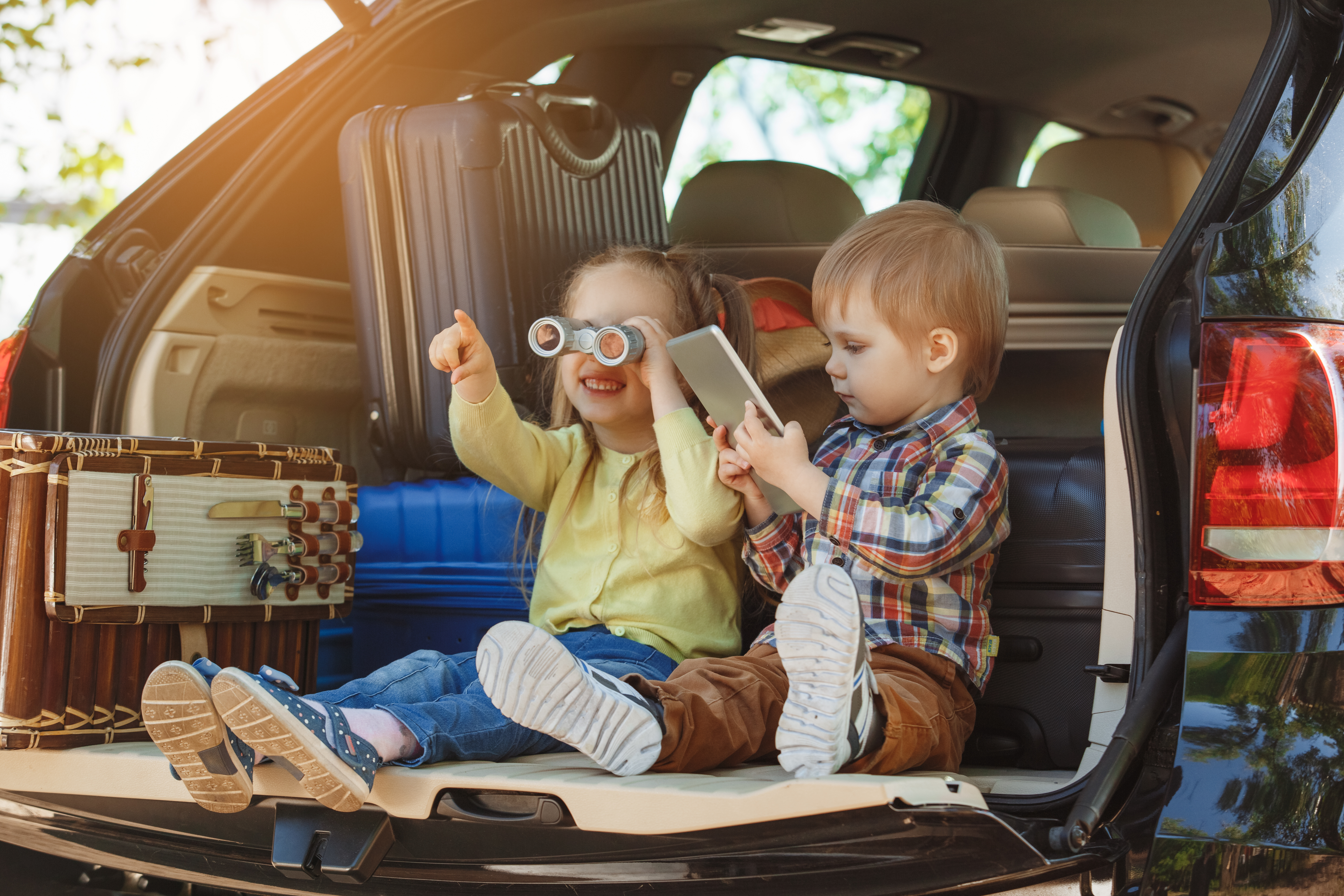 Both SUVs and minivans serve as great family cars.