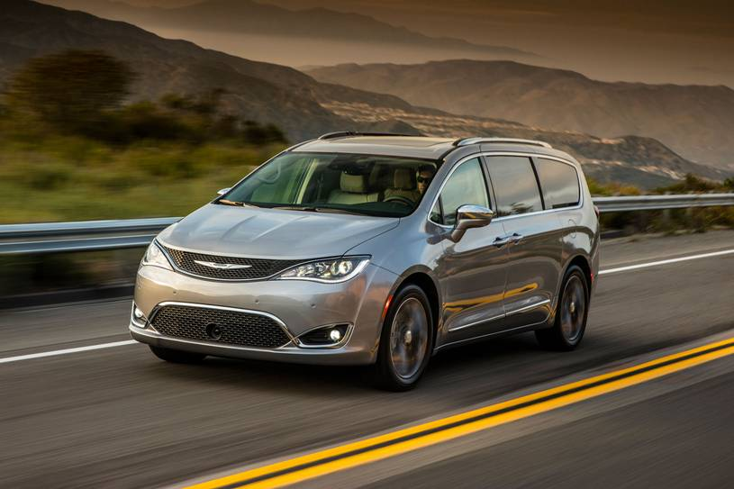 Chrysler Pacifica has plenty of room for all family members